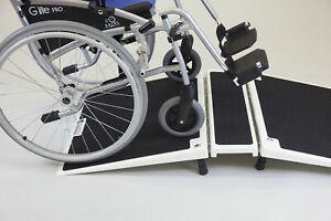 Faltbare Glasfaser Brückenrampe Türschwellenrampe Rollstuhlrampe