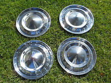 55 Chevy 150/210/B/A Nomad Full Cover Hubcaps  Set of 4