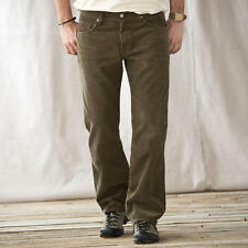 "AG ADRIANO GOLDSCHMIELD PROTEGE CORDUROY MENS 35"" x 29"" SULFUR BROWN PANTS, NEW!"