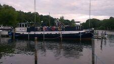 "Wohnschiff/ Hausboot/ Motorschff  "" MS Jens"" 18,79 m x 3,82 m Tiefgang ca. 0,85m"