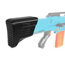 Worker MOD F10555 Fix ButtStock Black 3D Printing for Nerf LongShot Modify Toy