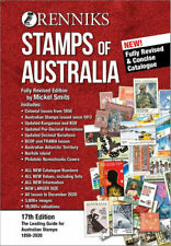 NEW Renniks Stamps of Australia : 17th Edition By Mickel Smits Paperback