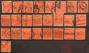 USA Stamps - Scott no 811 - Shades and Cancels study - used --