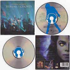 "Michael Jackson HISTORY / GHOSTS 5"" 5-inch CD Single 2 titres tracks 1997"