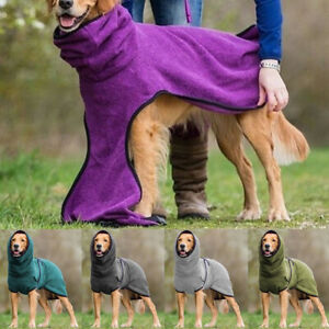 S-5XL Winter Dog Warm Blanket Vest Puppy Pet Coat Hoodies Jacket Fleece Dogs