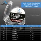 Maxcatch Japanese Fluorocarbon Fly Fishing Tippet Line 50M 1X 2X 3X 4X 5X 6X 7x