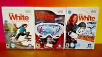 Shaun White Snowboarding Skateboard - Nintendo Wii / Wii U 3 Different Game Lot
