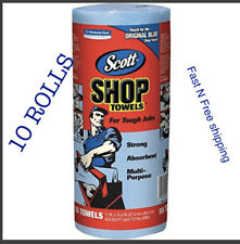 Scott Blue Original Multi Purpose Paper Shop Towels 10 Rolls of 55 Sheets Each