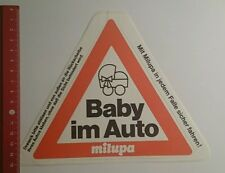 Aufkleber/Sticker: Baby im Auto milupa (1910162)