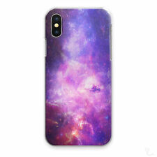 GALAXY STARS PRINT PHONE CASE PINK PURPLE HARD COVER FOR APPLE SAMSUNG HUAWEI