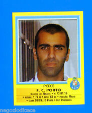 FUTEBOL PORTOGALLO 1999-2000 Panini - Figurina Sticker n. 7 - PEIXE -PORTO-New