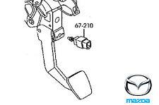 Genuine Mazda MX5 2008-2015 Brake Light Switch - GJ6E66490