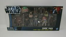 Ewok Pack Battle Packs STAR WARS The Clone Wars TCW Toys R Us Exclusive MIB