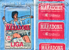 "RARE !! Pochette ""DIEGO MARADONA - LIGA 1984-1985"" packet, tüte, bustina PANINI"