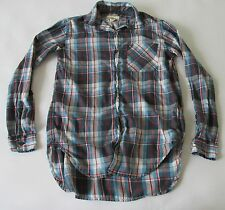 Ralph Lauren Denim & Supply RL Boyfriend Fit Women's Plaid LS Button Down Shirt