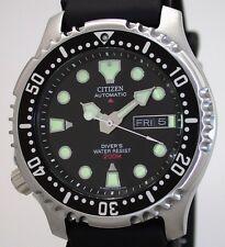 Citizen PROMASTER AUTOMATIC DIVER'S ISO 6425 Taucheruhr Ref. NY0040-09E