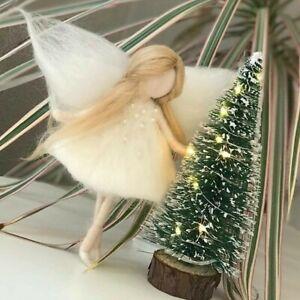 Weihnachtsfee aus Filz Mobiles Engel Tragetuch Weihnachten Geschenk Tannenbaum