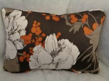 """NEW HUGE SAVINGS BEATRIX BY ROMO OBLONG CUSHION 18"""" X 12 """"COVER"""