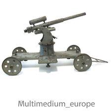 Haubitze Geschuetz 1. Weltkrieg Metall Kanone Spielzeug mechanisch antik Militär