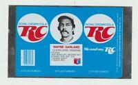 1977 RC Cola can Flat Wayne Garland Cleveland Indians