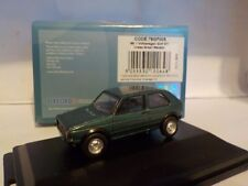 VW Golf GTi - Lhasa Green , Oxford Diecast Model Car. 1/76 Dublo
