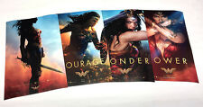 "Wonder Woman - 2017 (11""x 17"") Movie Collector's Poster Prints ( Full Set of 4 )"