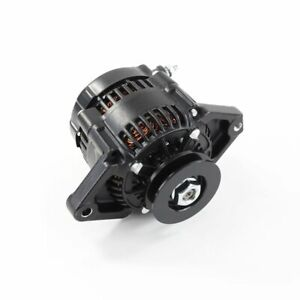 MINI ALTERNATOR 70 AMP1 WIRE BLACK HOTRODS RACE CARS WITH TIGHT SPACE 3910BK