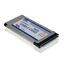 Scheda Express CSL Card PCMCIA USB 3.0 Super Speed (COMPATIBILE WINDOWS 10)