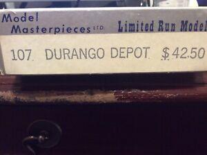 Model Masterpieces Durango Depot Kit NO. 10. NOS  HO/HOn3
