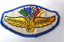 INDIANAPOUS MOTOR SPEEDWAY CLOTH PATCH