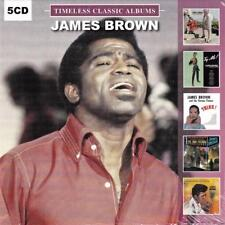 JAMES BROWN - TIMELESS CLASSIC ALBUMS (NEW SEALED 5CD)