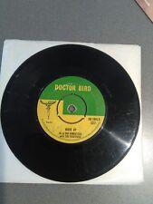 """MOVE UP.AL & THE VIBRATORS/THE FUGITIVES . Vinyl 7""""45rpm.DR BIRD.VGC"""