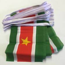 Suriname Bunting 6M 100% Polyester Fabric New (Women`s World Day of Prayer 2018)