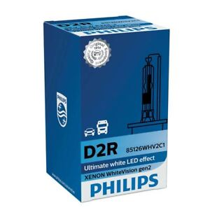 PHILIPS Xenon WhiteVision 85126WHV2C1 gen2 1x D2R HID Headlight lamp 5000K