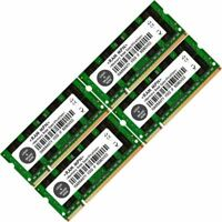 8GB (4x2GB) DDR2-800 PC2-6400 SODIMM Laptop Notebook Memory RAM 200 Pin
