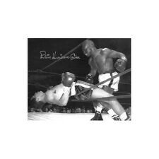 "Rubin ""Hurricane"" Carter signed Vintage B&W 16x20 Photo (deceased)"