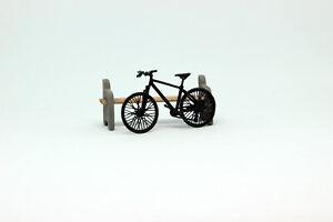 Exclusive! bicycle black handmade 1:43