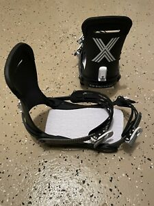 Fix Binding Company Magnum Bindings Black/White Large - Used 1 Day