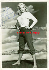 Jayne-Mansfield autographed 8x10 photo RP