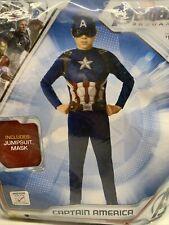 Captain America Avengers Endgame Child Halloween Costume Medium 8-10