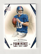 2013 PROMINENCE ELI MANNING CARD