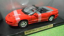 PONTIAC FIREBIRD TRANS AM 1/18 ROAD SIGNATURE YAT MING 92388 voiture miniature