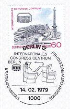 Berlin 1979: ICC-Eröffnung Nr. 591 mit sauberem Ersttagssonderstempel! 1801