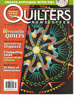 QUILTERS NEWS LETTER, FEBRUARY / MARCH, 2013 ( CREATE APPLIQUE WITH EQ7 )
