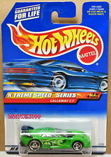 HOT WHEELS 2000 X-TREME SPEED SERIES CALLAWAY C7 #2/4 GREEN SAWBLADE WHEELS