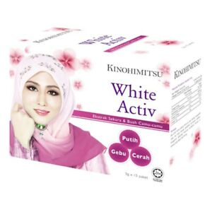 Kinohimitsu Collagen White Active 5g x 15 Packets  FREE Express Shipping