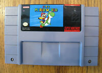 Super Mario World Super Nintendo SNES - Cartridge Only - Tested - Free Shipping