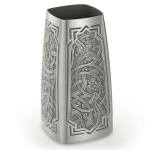 Royal Selangor Hand Finished Atiya Collection Pewter Vase Gift