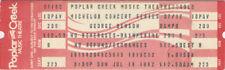George Benson 1982 Unused Concert Ticket Chicago