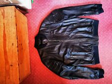 Belstaff Pershall Black Leather Jacket 54